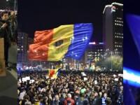 Filmul unei seri in care Romania a rabufnit si a iesit in strada: