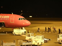Un avion Wizz Air care a plecat din Bucuresti a aterizat de urgenta la Malmo. Un pasager agresiv a fost arestat