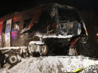 Un roman a murit intr-un accident in Germania. Camionul cu care transporta un vehicul militar american a fost lovit de tren
