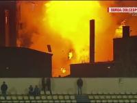 Un barbat ranit in explozia de la Brasov va fi transferat la o clinica din strainatate