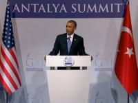 De ce nu a trimis SUA trupe terestre in Siria. Obama, la summit-ul G20: