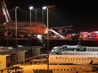 Doua zboruri Air France spre Paris , obligate sa-si schimbe ruta dupa o alerta anonima cu bomba