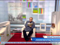"""Omul care aduce cartea: Mihail Sevastos, """"Amintiri de la Viata Romaneasca"""""""