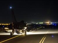 Cel putin 33 de jihadisti ai Statului Islamic, ucisi in raiduri aeriene franceze si rusesti in 72 de ore