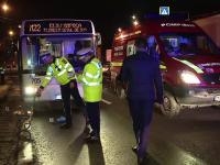 Femeie de 83 de ani, lovita mortal de un autobuz pe trecerea de pietoni, in Cluj. Soferul a lesinat cand a vazut scena