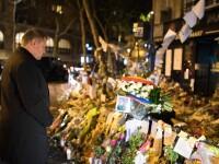 Klaus Iohannis si Barack Obama, omagiu victimelor atentatelor din 13 noiembrie, la Paris. Mesajul presedintelui roman
