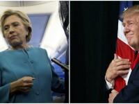 Sondaj ABC News/Washington Post: Pentru prima data in ultimele 6 luni, Donald Trump este peste Hillary Clinton