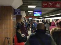 Barbat, lovit de metrou in Capitala. Membrul inferior drept i-a fost amputat in urma coliziunii
