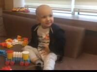 La 2 ani, se lupta cu o forma rara de cancer. Cum il puteti ajuta pe David sa aiba o sansa la viata