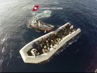 Paza de coasta italiana a reusit sa salveze 2.200 de migranti. Papa Francisc: \