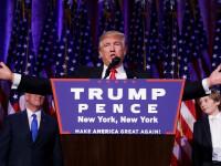 Donald Trump a fost ales al 45-lea presedinte al SUA