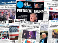 Presa americana este uimita de victoria lui Trump. Primele pagini ale ziarelor internationale -