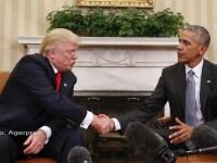 Intalnire Obama - Trump la Casa Alba.