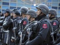 Atentat terorist al ISIS dejucat in Albania, la un meci de fotbal cu Israelul. 20 de arestari, arme si explozivi descoperiti