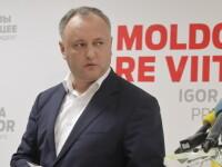 Alegeri in Republica Moldova. Igor Dodon, catre Maia Sandu: \