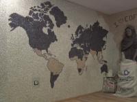 Cel mai mare mozaic din boabe de cafea din lume, realizat in Slovacia. Cate boabe au fost folosite si cat timp a durat