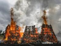 Peste 5200 de arme de foc au fost arse de autoritatile kenyene. Motivul pentru care a fost luata aceasta decizie VIDEO