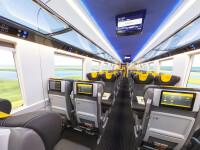 Vagoane de tren de lux, facute in Romania, dar vandute la export. Merg cu 200 km/h si costa un milion de euro bucata