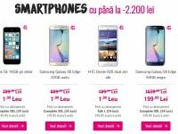 Smartphone-uri la 1 leu sau reduse cu 2200 de lei de Black Friday