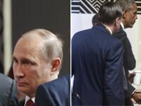 Ultima intalnire la varf Obama - Putin. Cei doi lideri mondiali aproape ca nu s-au privit in ochi cand si-au dat mana