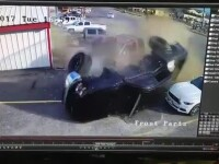 Accident în lanţ în Texas, produs de un şofer drogat