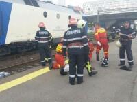 Un bărbat și-a găsit sfârșitul sub roțile unui tren, în zona gării Leordeni