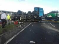 Şofer român de TIR, condamnat pentru un accident mortal comis în Anglia în timp ce vorbea la telefon