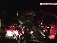 Accident rutier grav, în Vrancea. Patru membri ai echipei tehnice Dunarea-Călărași au fost rănți