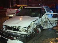 Un șofer băut a cauzat un accident în lanț, în Târgoviște