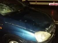 Bărbat lovit pe trecerea de pietoni, în Brăila. Accidentul a fost filmat