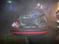Un tânăr din Craiova a ars de viu după ce s-a răsturnat cu BMW-ul, din cauza vitezei