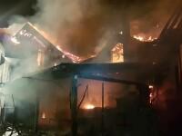 Incendiu puternic la o pensiune din Timiș. Șapte persoane, evacuate