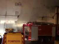 Incendiu violent într-o sală de sport din Cluj: 70 de persoane au fost evacuate