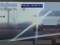 Șofer de 19 ani, prins de poliţişti conducând cu 218 km/h pe E85, în Buzău