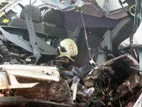 Microbuz românesc, accident în Ungaria. 3 persoane au murit. Un rănit a fost externat