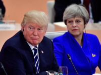 """Atac rar între SUA și UK. Trump, către May: """"Concentrează-te pe terorismul islamic din Regat"""""""