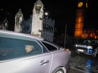 Convoiul în care se afla Theresa May în Belgia, implicat într-un accident rutier. Doi polițiști, la spital