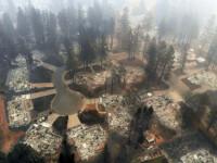 63 de morți și 600 de dispăruți în incendiile din California. Trump merge sâmbătă în zona afectată