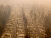 74 de morţi, noul bilanţ al victimelor incendiului din nordul Californiei