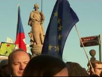 Cehii au protestat împotriva premierului miliardar Andrej Babis. Acuzațiile aduse