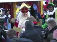 Alertă în Olanda, din cauza unei tradiţii de Moş Nicolae. Personajul care a provocat lupte de stradă