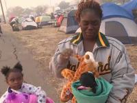 A vrut să își refacă viața în California, după un uragan, însă a ajuns victimă a incendiilor