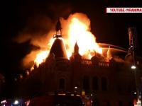 Cauza incendiului în care a fost distrus Palatul Episcopal din Oradea a fost, cel mai probabil, de natură electrică