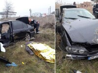 Un bărbat din Giurgiu a murit într-un accident de mașină, din cauza vitezei prea mari