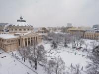 Val de frig în România, cu ninsori și viscol. Vremea se schimbă radical de vineri