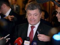 Poroşenko îl acuză pe Putin că vrea să anexeze întreaga Ucraină