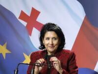 O femeie a câștigat alegerile prezidențiale în Georgia. Cine este Salome Zurabișvili