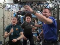 Baseball pe Stația Spațială Internațională. Cum s-au distrat astronauții