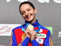 Ana-Maria Popescu a câştigat aurul la Cupa Mondială la spadă din Estonia