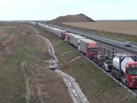 Situație de coșmar la ieșirea din țară, spre Ungaria! Șoferii așteaptă și 10 ore la vamă